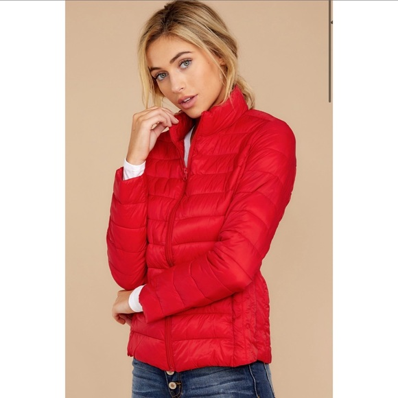 American Eagle Outfitters Jackets & Blazers - American Eagle pink puffer jacket winter coat